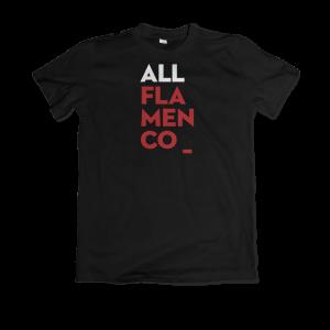 Camiseta All Flamenco Negro