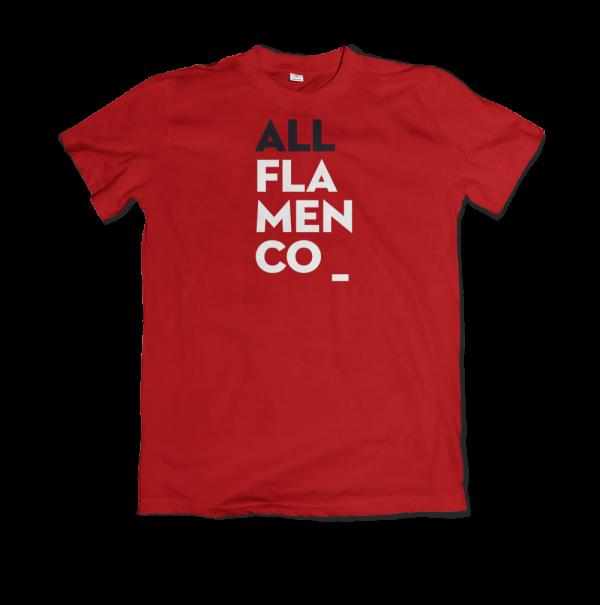 Camiseta All Flamenco Rojo